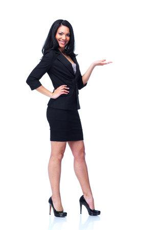Smiling business woman  Stock fotó