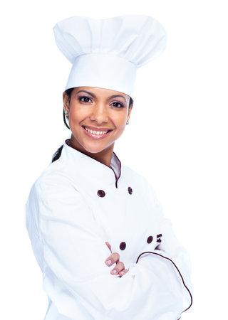 chef cocinando: Chef mujer