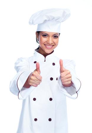 Chef woman  Reklamní fotografie