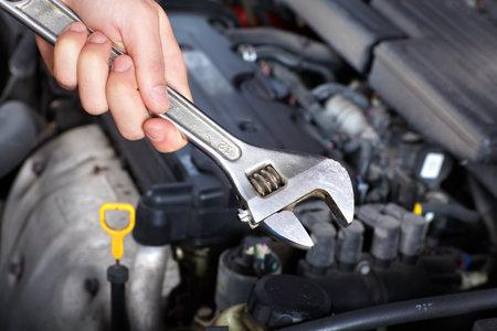 auto repair: Auto service  Stock Photo