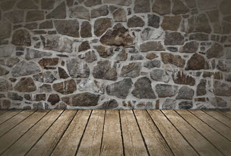 Wall and floor background  Stock Photo - 14220443