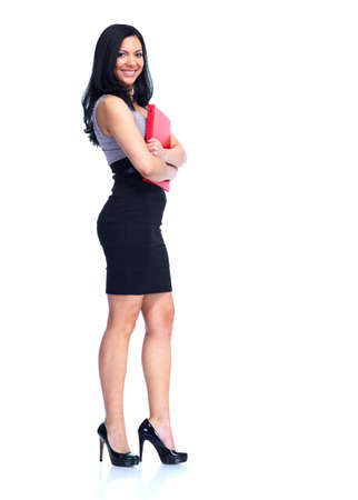 Beautiful business woman Фото со стока - 14201916