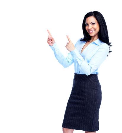 latin students: Beautiful business woman