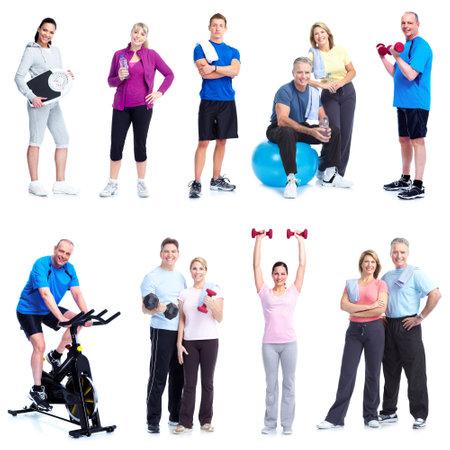 uomo palestra: Fitness e palestra