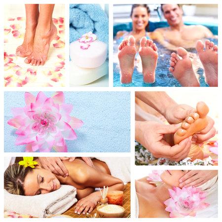 aseo personal: Spa Beautiful collage masaje