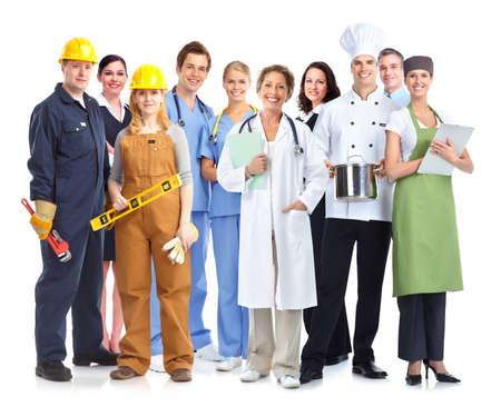 산업 노동자의 그룹