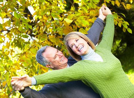 retirees: Happy senior couple