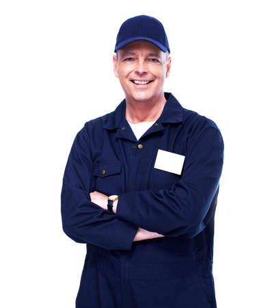 auto mechanic: Mature auto mechanic