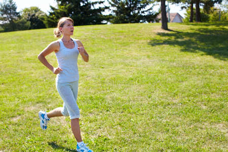 Jogging woman  Stock Photo - 15497145