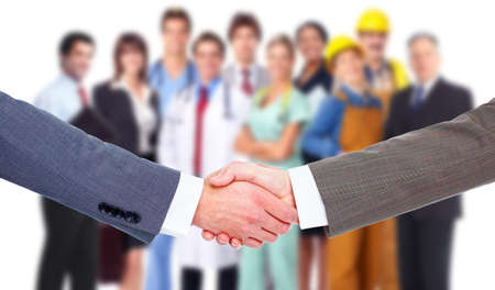 union: Business meeting  Handshake