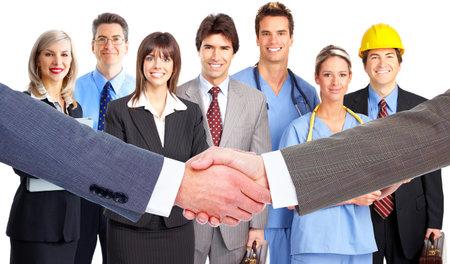 Business meeting  Handshake  photo