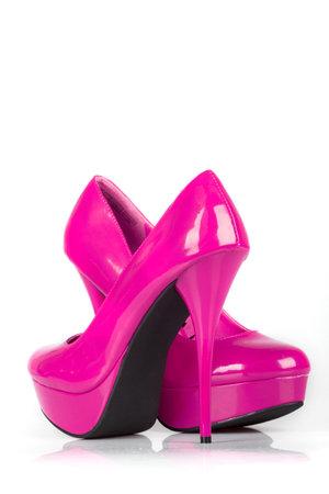 Pink women shoes