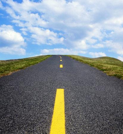 The road  Фото со стока