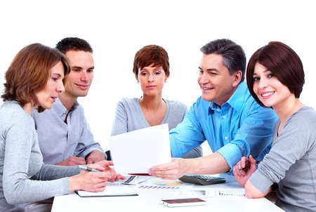 Group of business people  Stock Photo