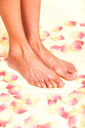 Foot massage  写真素材