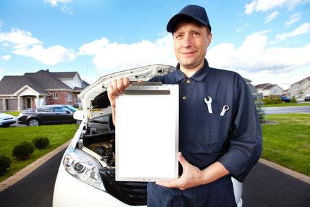 auto mechanic: Professional auto mechanic