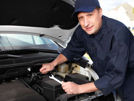 Professional auto mechanic  photo