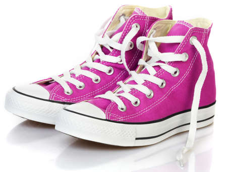 athletic wear: Sneakers  Stock Photo