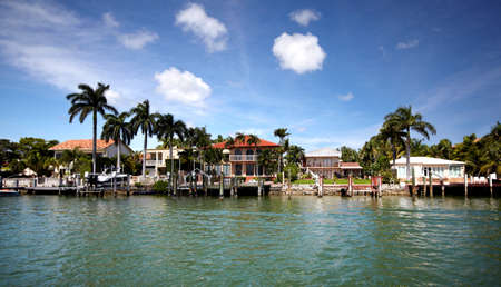 Beautiful miami landscapes. Travel destination. photo