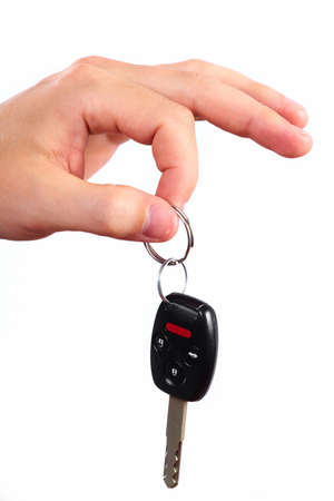 holding close: Hand with a car key