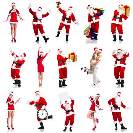 Happy Christmas Santa Stock Photo - 15705818