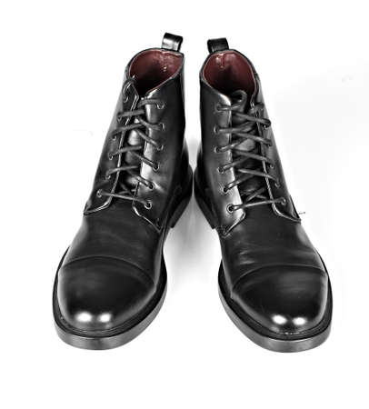 Black man shoes  photo