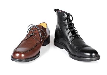 Brown man shoes  photo