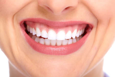 Beautiful young woman smile. Dental health. Stock Photo - 16080799