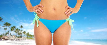 Beautiful woman in bikini Stock Photo - 16185220