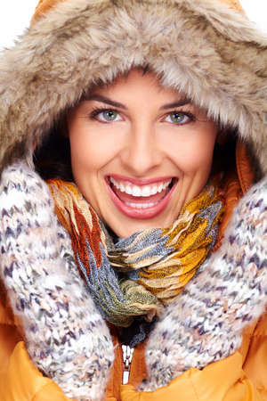 Beautiful young woman face Stock Photo - 16336351