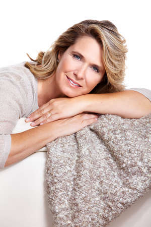 Happy senior woman  Stock Photo - 16336327