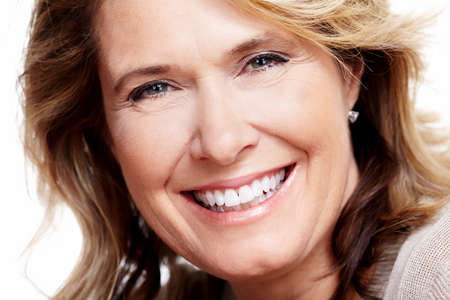 mujeres maduras: Feliz mujer mayor