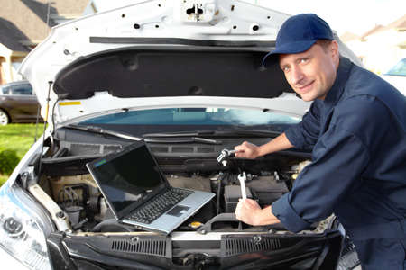 Car mechanic  Stock Photo - 16336253