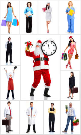 Group of workers people set Stock Photo - 16492138