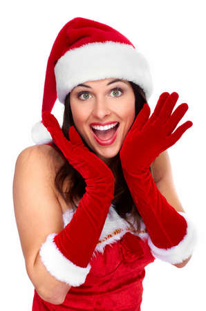 Happy young christmas girl  Stock Photo - 16619437