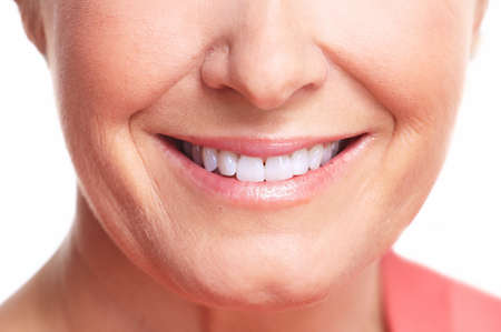 Happy woman smile Stock Photo - 16619422
