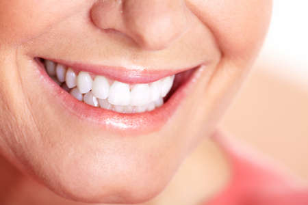 Happy woman smile Stock Photo - 16619498