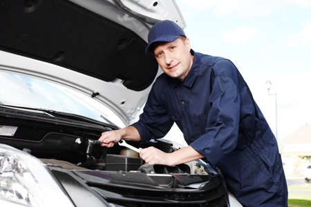 Professional auto mechanic  Stock Photo - 16619501