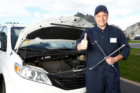 Professional auto mechanic  Stock Photo - 16619494