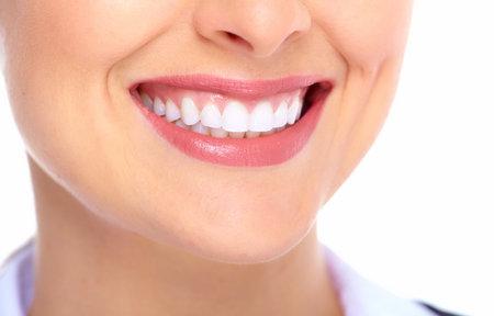 Beautiful woman smile