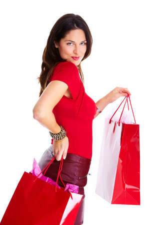 Shopping woman  Stock Photo - 16619424