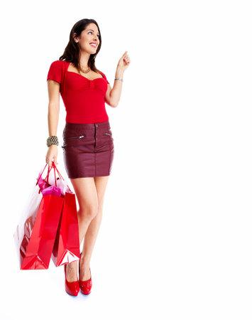 Shopping woman Stock Photo - 16619331