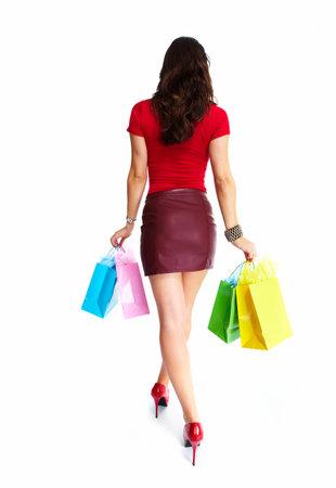 Shopping woman Stock Photo - 16619333