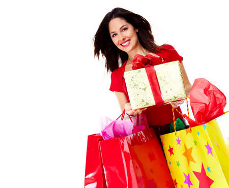 Beautiful Shopping woman  Stock Photo - 16619423