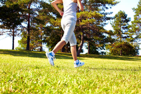 Jogging woman  Stock Photo - 16619527