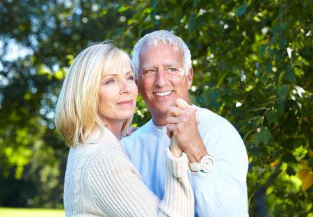 Happy senior couple Stock Photo - 16619521
