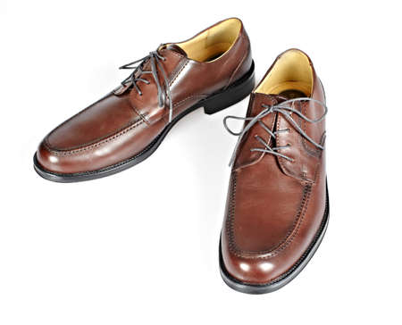 Brown man shoes Stock Photo - 16606733