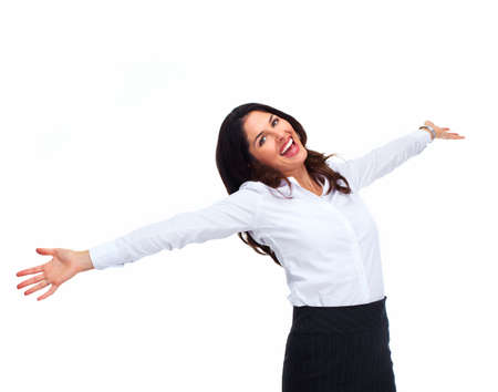 Happy Business woman  Stock Photo - 16642995