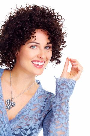 Young beautiful woman portrait Stock Photo - 16643039