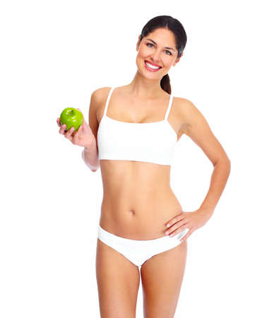 Beautiful healthy woman Stock Photo - 16640990